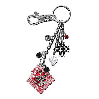Twilight Eclipse Keyring/Bag Clip Cullen Crest w/ Filigr