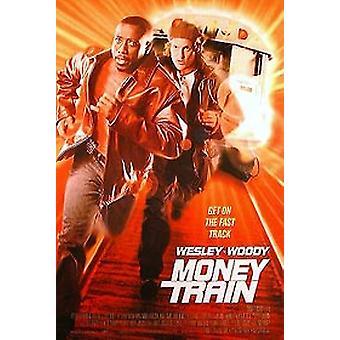 Money Train (singolo lato regolare) Poster originale del cinema