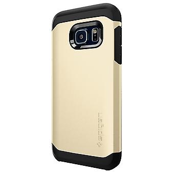 Galaxy S7 Edge stoere Armor Shell Case goud