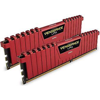 Corsair 16GB DDR4 2400MHz C16 Vengeance LPX Red