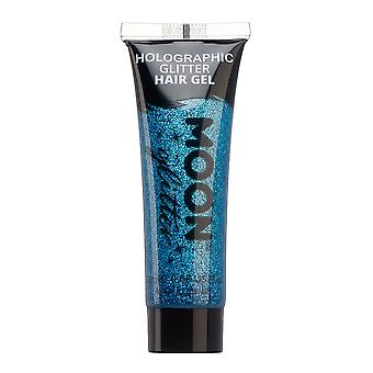 Holografisk glitter Hair gel av Moon glitter-20ml-blå