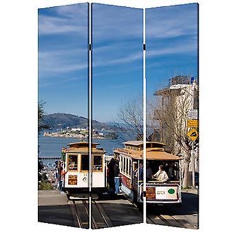 1_quote; x 48_quote; x 72_quote; 多色, 木材, 画布, 旧金山 - 屏幕