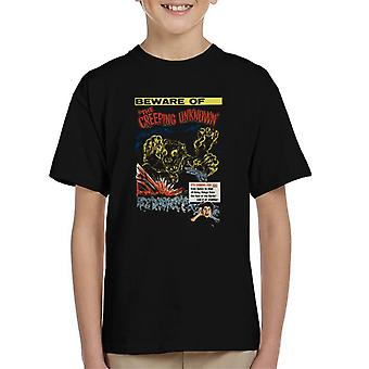 Hammer Horror Films Quatermass The Creeping Unknown Kid's T-Shirt