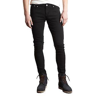 Criminal Damage Black Skinny Jeans