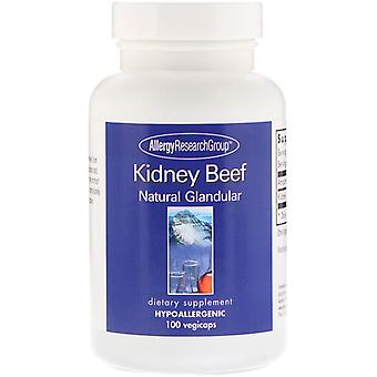 Kidney Beef Natural Glandular 100 Vegicaps - Allergy Research Group