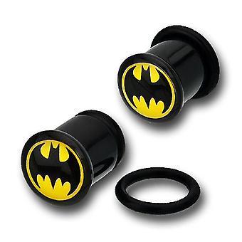 Batman musta akryyli Single Flare pistokkeet