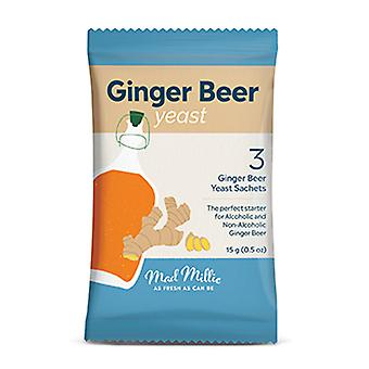 Mad Millie Ginger Beer Yeast - Pack Of 3
