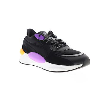 Puma RS 9.8 Gravity Mens Black Wildleder Lace Up Low Top Sneakers Schuhe