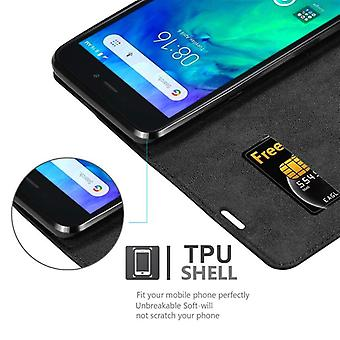 Cadorabo Case for Xiaomi RedMi GO Case Cover - Phone Case with Magnetic Closure, Stand Function and Card Case Compartment - Case Case Case Case Case Case Book Folding Style