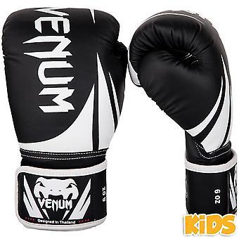 Venum Challenger 2.0 Niños Guantes de Boxeo Negro/Blanco