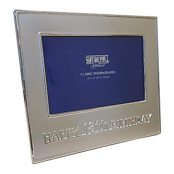 Shudehill Giftware Happy 18th Birthday 6 X 4 Photo Frame