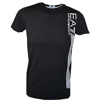 EA7 Boys Black T-Shirt