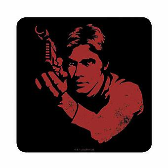 Star Wars Coaster Han Solo stance A new Hope new Official Black