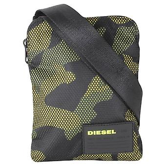 Diesel F-Discover Cross Body Bag - Camo Green