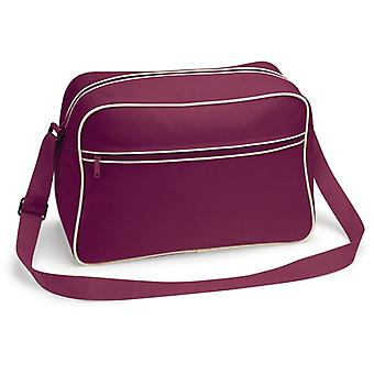 Retro Shoulder Bag - lila