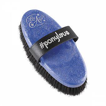 Haas Ponylove Diva Brush - Blue