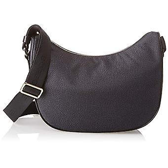 Borbonese Moon Black Women's shoulder bag 28x24x11 cm (W x H x L)