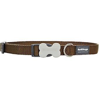 Collier de chien lisse brun rouge Dingo (chiens, colliers, câbles et harnais, colliers)