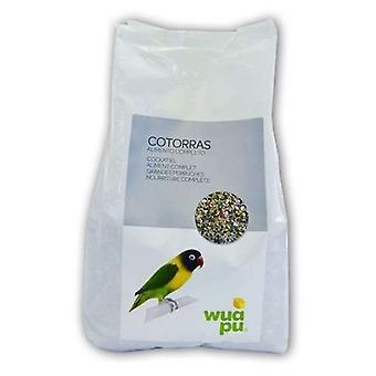 Wuapu mat för papegojor (fåglar, fågelmat)