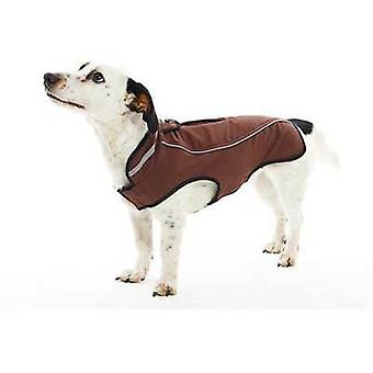 Kruuse Impermeable para Perros Buster Marrón (Dogs , Dog Clothes , Raincoats)