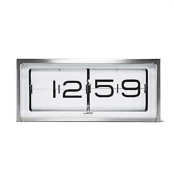 Leff Amsterdam LT15001 Brick 24HR Vintage Style Flip Clock