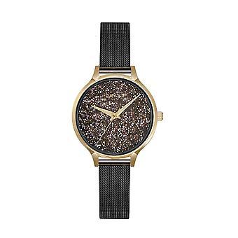 Obaku Stjerner Medallion Women's Black Mesh Strap Wristwatch V238LXGBMB