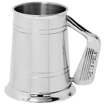 Golf Club Handle The 19th Hole Pewter Tankard - 1 Pint