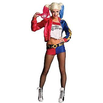 Rubie's Costume Co Women's Suicide Squad Deluxe Harley Quinn Costume