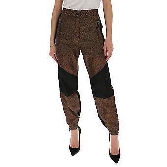 R13 R13w7556024 Women's Leopard Cotton Pants