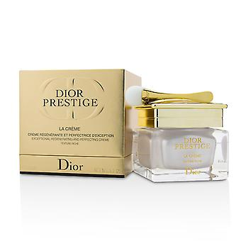 Dior prestige la creme exceptional regenerating and perfecting rich creme 215973 50ml/1.7oz