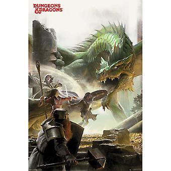 Dungeons & Dragons Seikkailu Maxi Juliste