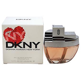 Mijn NY DKNY door Donna Karan voor vrouwen 1.7oz Eau De Toilette Spray