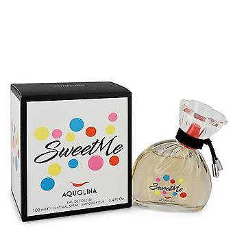 Sweet Me Eau De Toilette Spray By Aquolina 3.4 oz Eau De Toilette Spray