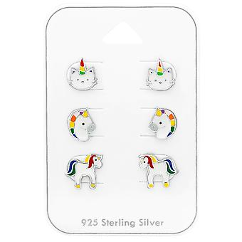 Unicorn - 925 Sterling Silver Sets - W38727x