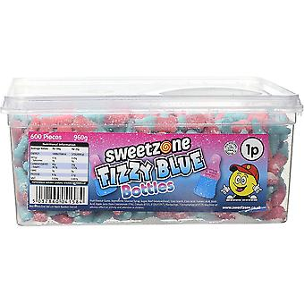 SweetZone Fizzy Blue Bottles (600) pieces 960g