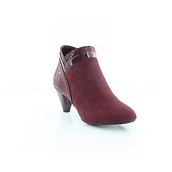 Karen Scott Womens Cahleb amêndoa Toe Ankle Boots moda