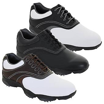 Footjoy Mens FJ Originals Leather Waterproof Spiked Golf Shoes