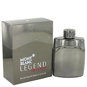 Montblanc Legend Intense Eau De Toilette Spray By Mont Blanc 3.4 oz Eau De Toilette Spray