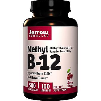 Jarrow Formulas Methyl B-12 500 mcg 100 tablets