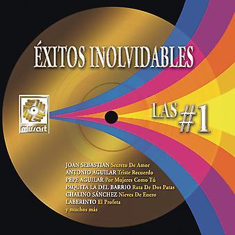 Exitos Inolvidables: Las #1 [CD] USA import