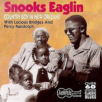 Snooks Eaglin - Country Boy Down in New Orlean [CD] USA import
