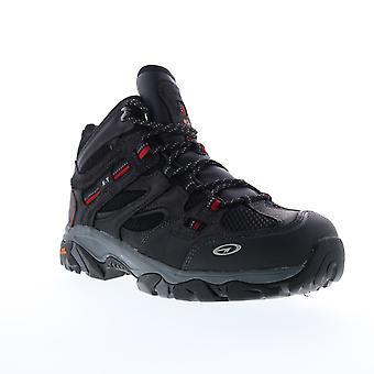 Hi-Tec X-T Boron Mid Waterproof 360 ST  Mens Black Work Boots Shoes
