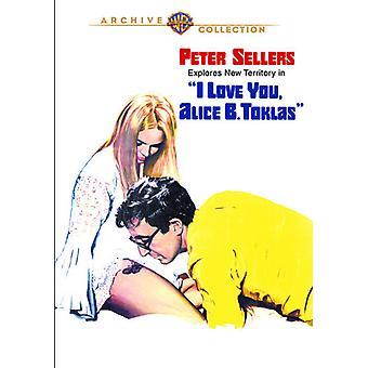 Rakkaus olet Alice B. Toklas [DVD] Yhdysvallat tuon