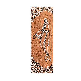 Saltwater Life Aboriginal Design Yoga Mat Eco Rubber