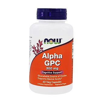 Alpha GPC 300mg 60 vegetable capsules