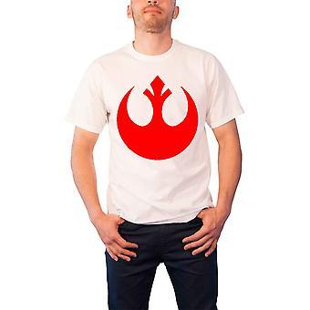 スター・ウォーズ Tシャツ レジスタンス 反乱軍 ロゴ エンブレム 公式メンズ 新ホワイト