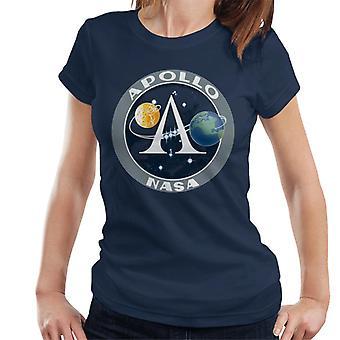 NASA Apollo Program Logo Badge Women's T-Shirt