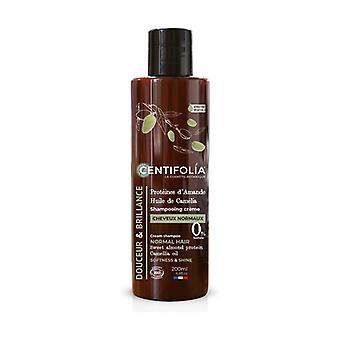 Normal hair shampoo 200 ml of cream