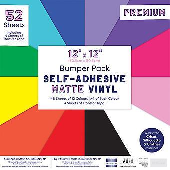 First Edition Auto Adhésif 12x12 Inch Matte Vinyl