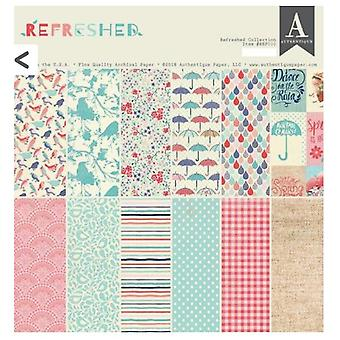 Authentique Refreshed 12x12 Inch Paper Pad
